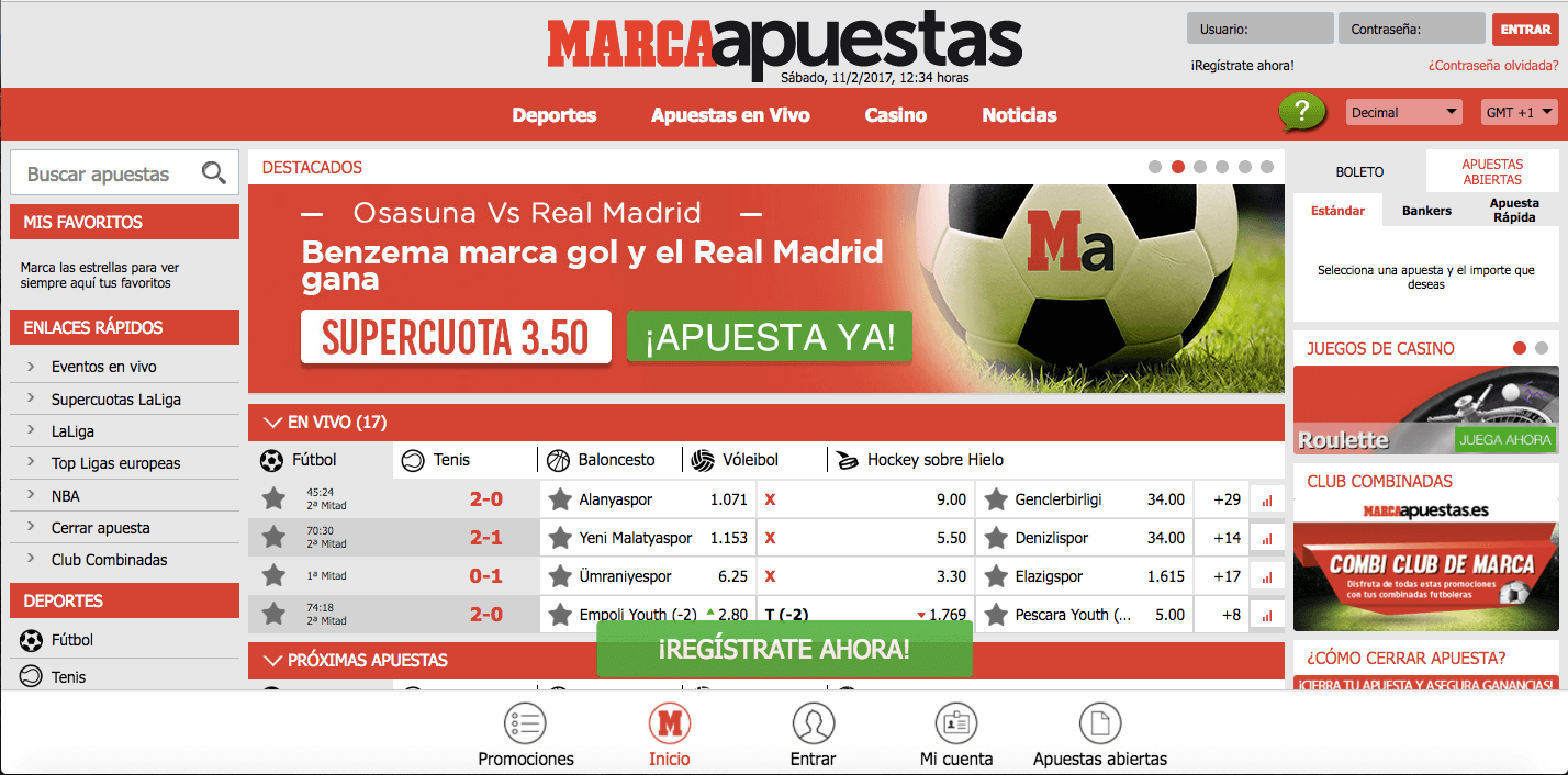 Frontpage Marca