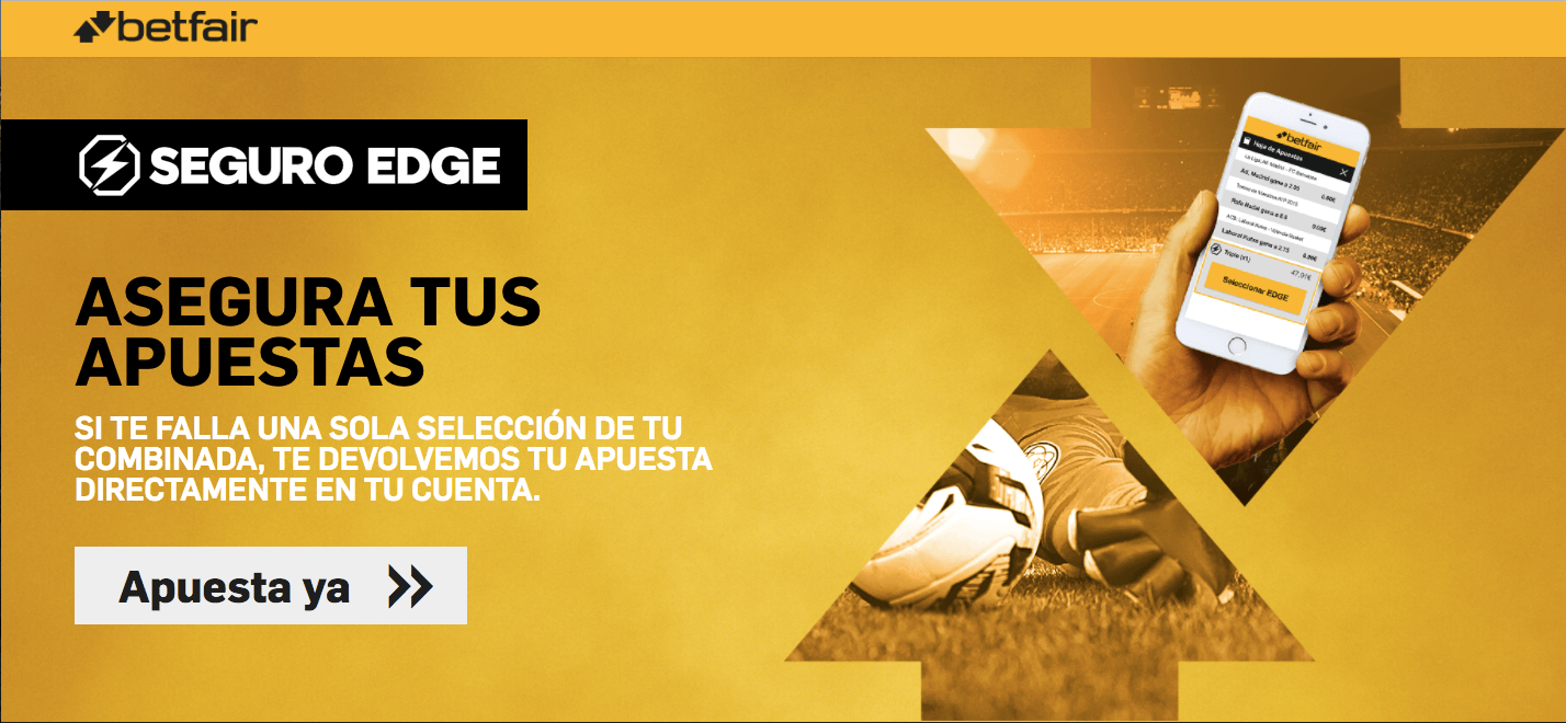 Seguro Edge Betfair